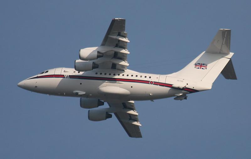 RAF BAe 146 CC2 ZE700<br /> By Jim Calow.