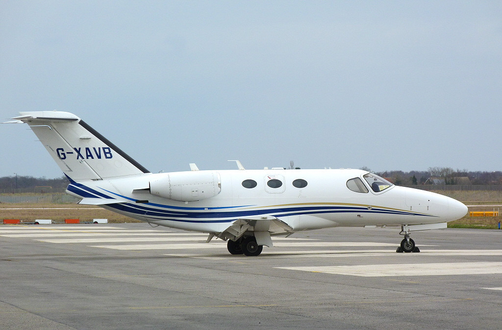 Citation 510 Mustang G-XAVB<br /> By Clive Featherstone.