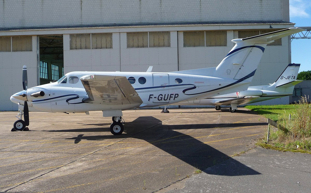 Nyco SA Beech King Air 200 F-GUFP <br /> By Correne Calow.