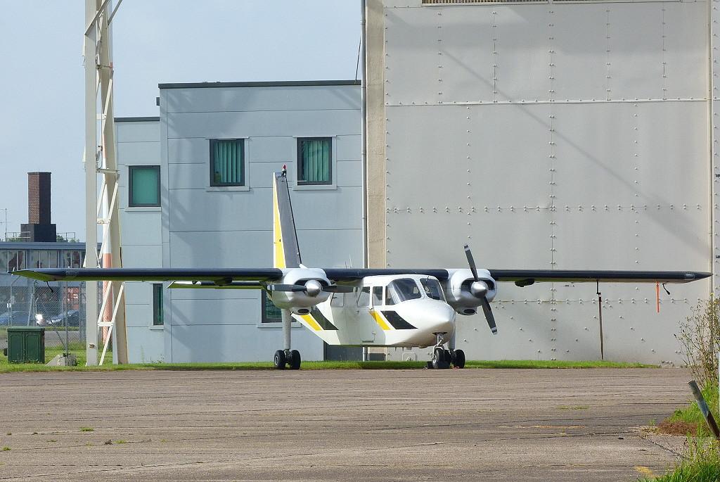 Hebridean Air Services Ltd,  Pilatus Britten-Norman BN2B-20 Islander, G-BPLR.<br /> By Clive Featherstone.