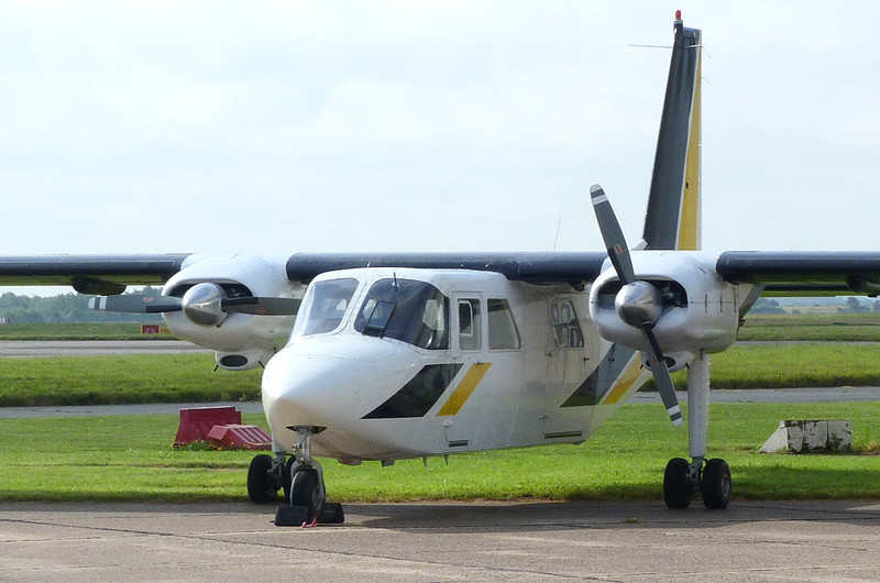 Hebridean Air Services Ltd,  Pilatus Britten-Norman BN2B-20 Islander, G-BPLR.<br /> By Clive Featherstone.