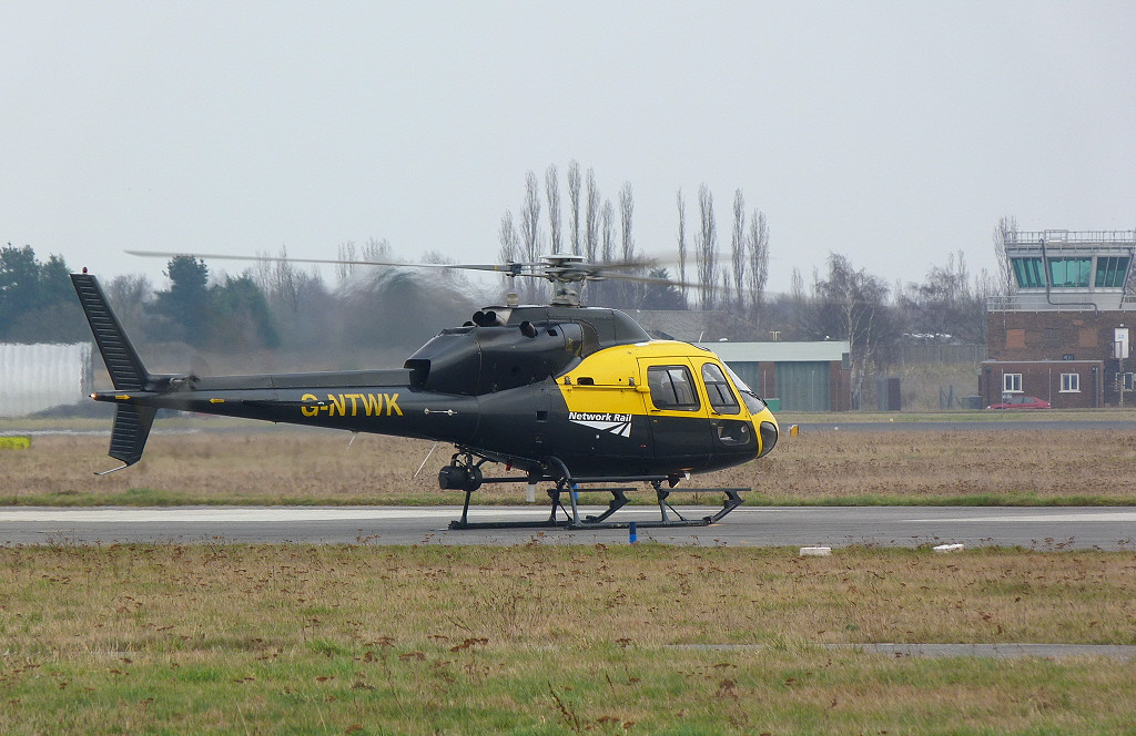 Aerospatiale AS355F2 Ecureuil II G-NTWK.<br /> By Clive Featherstone.