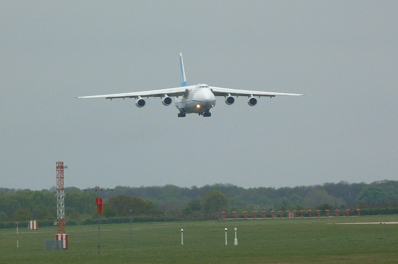 Antonov Design Bureau An-124 UR-82027.<br /> By Clive Featherstone.
