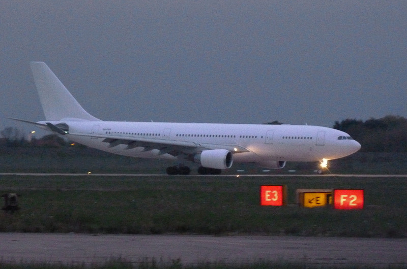 Hi Fly Airbus A330-202 CS-TQP.<br /> By Clive Featherstone.