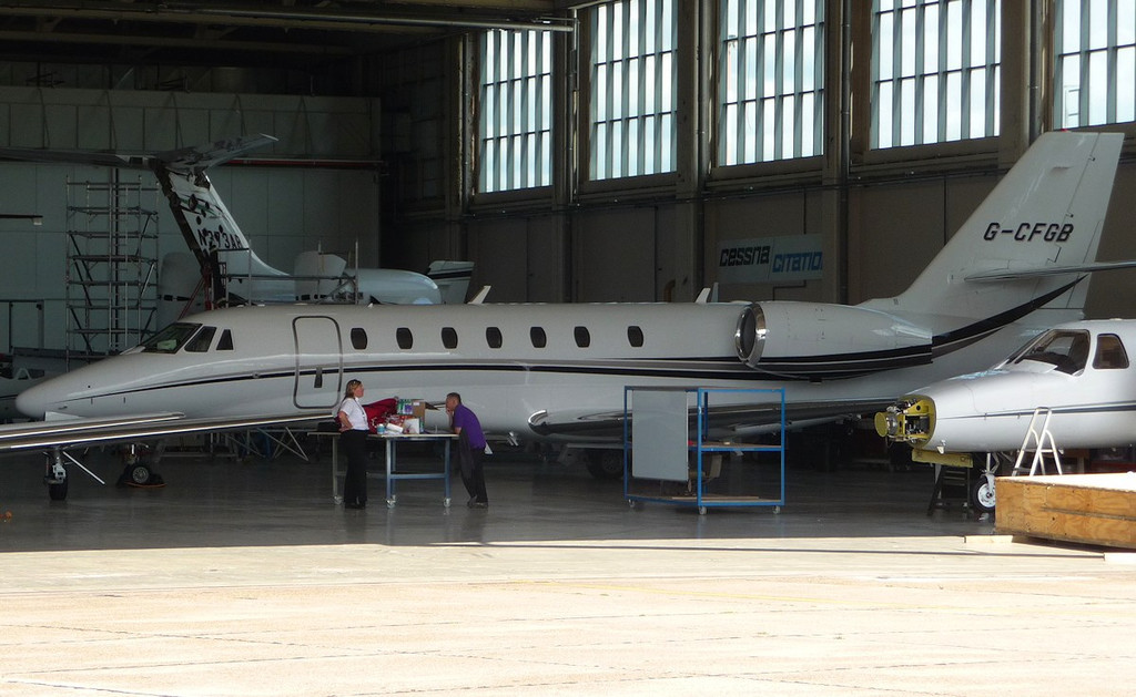 Cessna 680 Citation Sovereign G-CFGB  C/N 680-0234<br /> By Correne Calow.