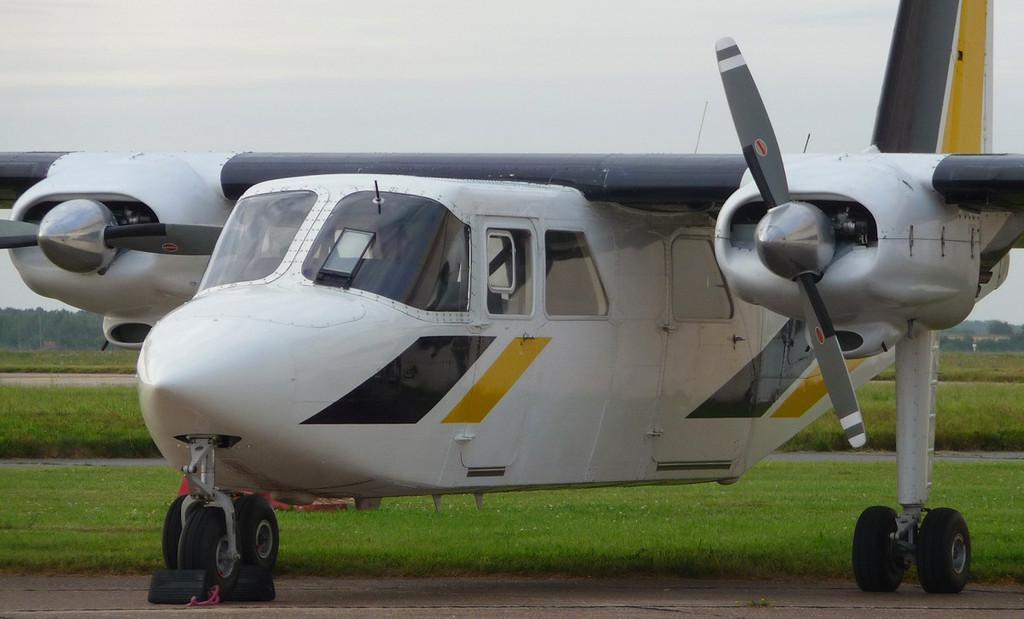Hebridean Air Service Lts Pilatus Britten-Norman BN2B-20 Islander G-BPLR<br /> By Correne Calow.