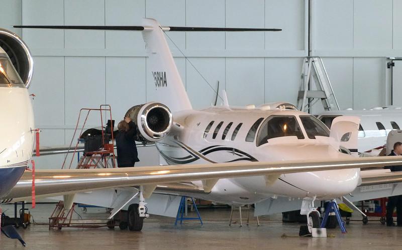 Cessna C525 Citation CJ1 N358HA (ex M-PARK) CN: 525-0358.<br /> By Jim Calow.