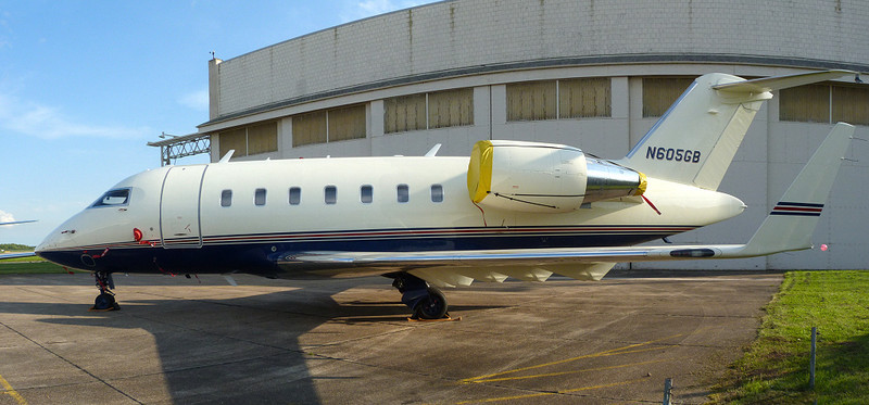 Still waiting for a buyer.......Bombardier CL600 2B16 Challenger 605 N605GB.<br /> By Clive Featherstone.