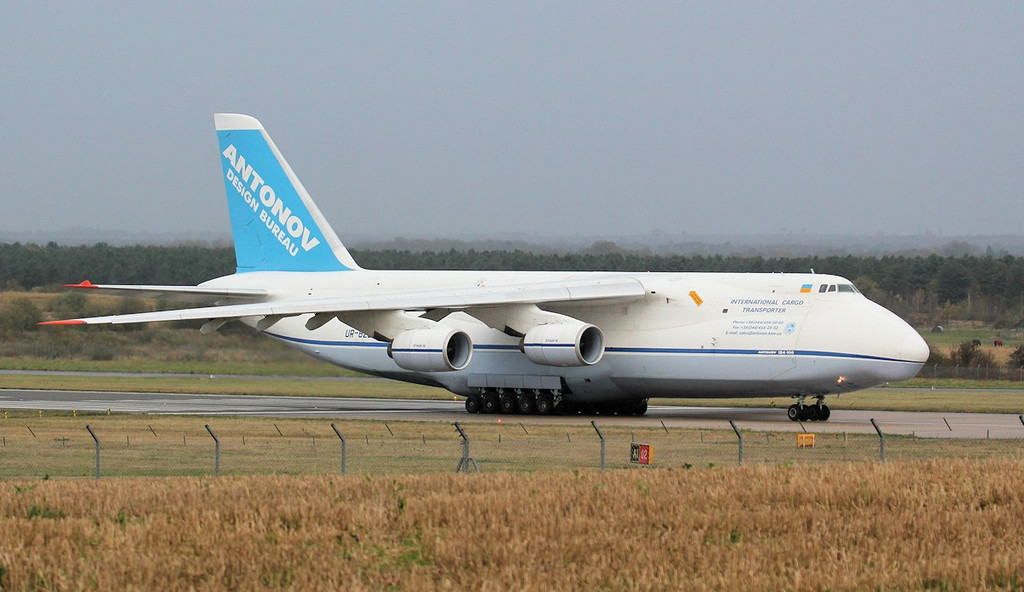 Antonov Design Bureau, An-124-100 UR-82029.<br /> By Jim Calow.