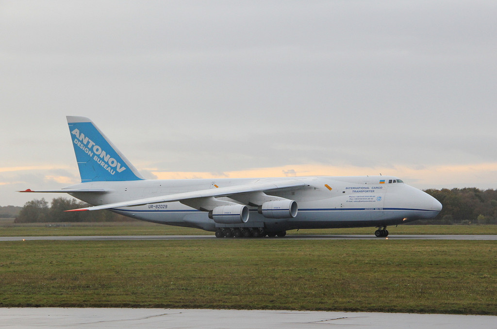 Antonov Design Bureau, An-124-100 UR-82029.<br /> By Clive Featherstone.