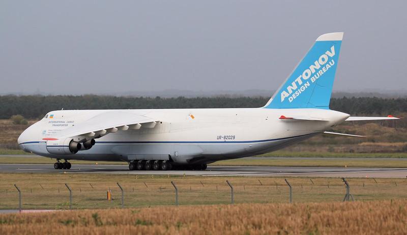 Antonov Design Bureau, An-124-100 UR-82029.<br /> By Jim Calow.