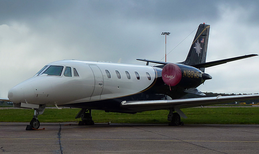 Cessna 560XL Citation Excel N188WS<br /> By Correne Calow.