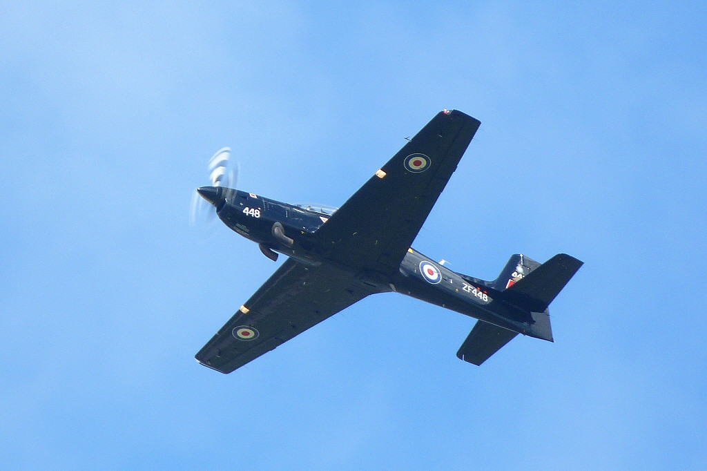RAF Tucano T1 ZF448.<br /> By Clive Featherstone.