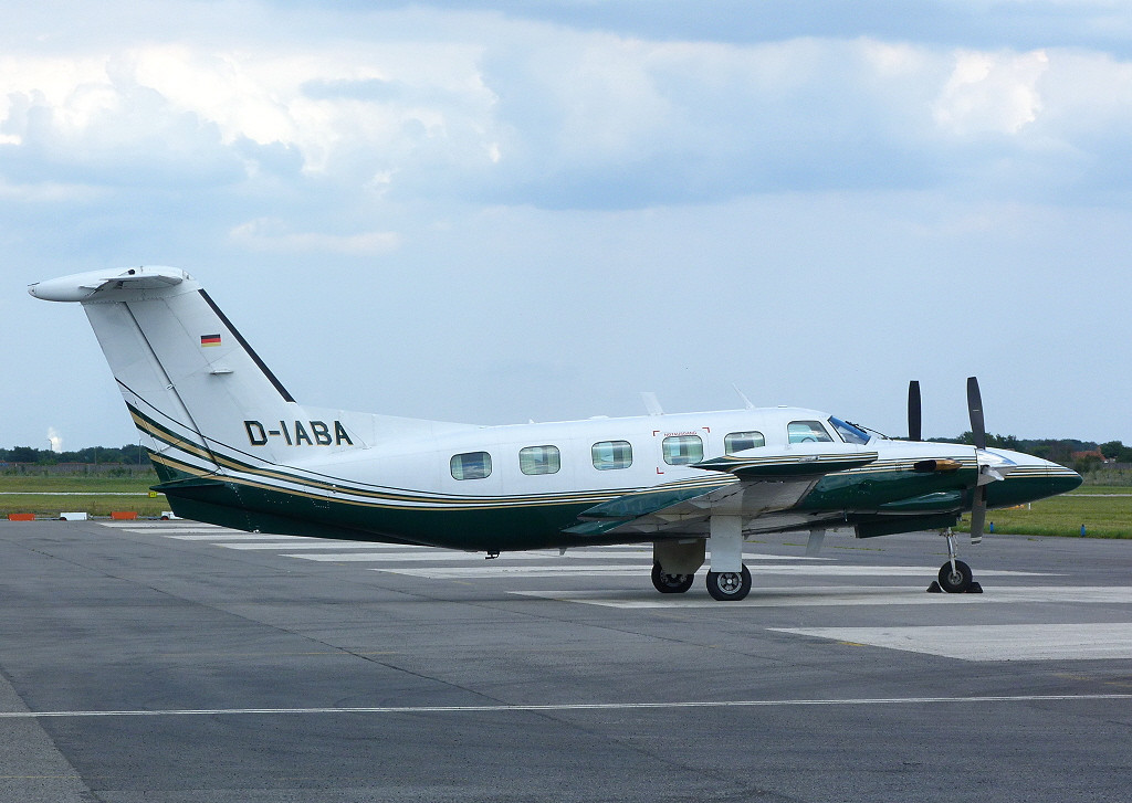 Piper PA-42-720 Cheyenne IIIA, D-IABA.<br /> By Clive Featherstone.