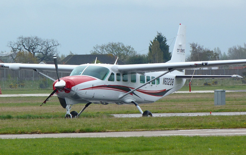 Cessna 208B Caravan N60208<br /> By Clive Featherstone.