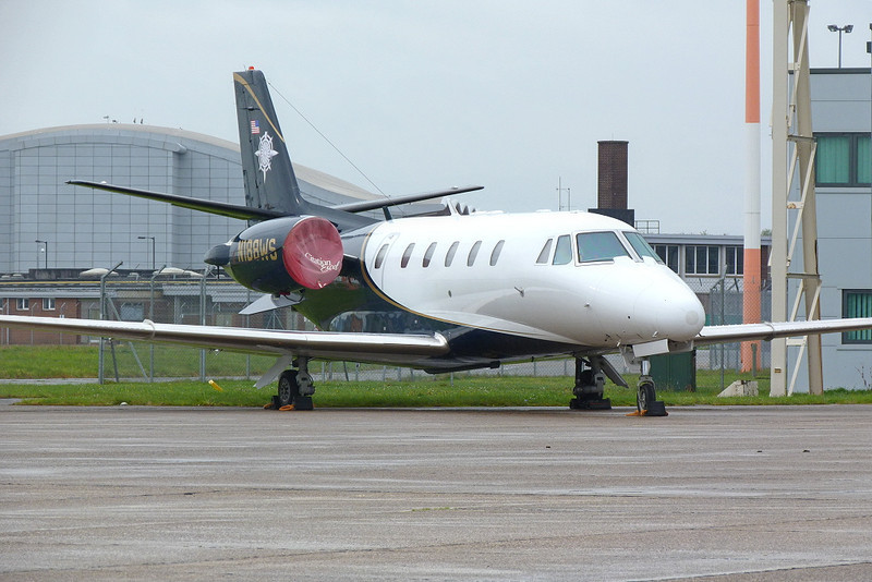 Cessna 560XL Citation Excel N188WS<br /> By Clive Featherstone.