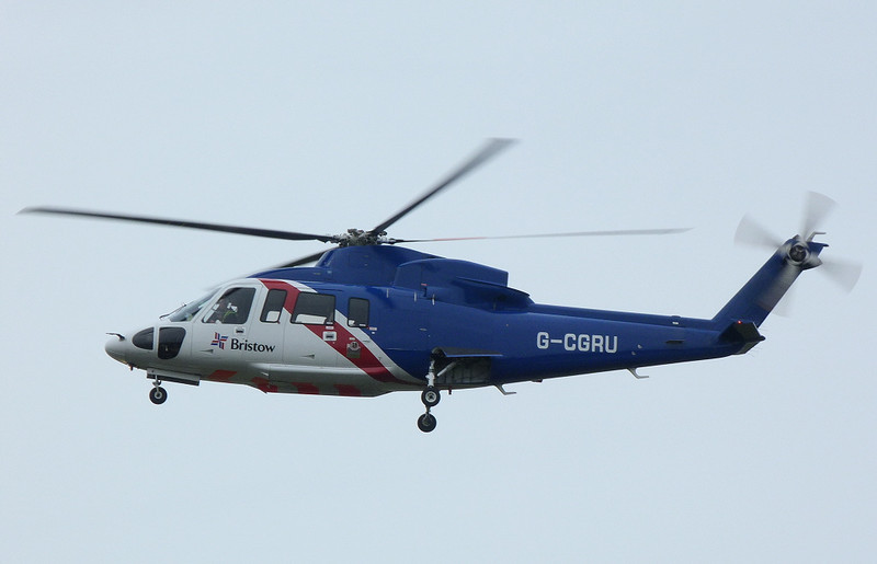Bristow Helicopters Sikorsky S-76C Spirit  G-CGRU<br /> By Clive Featherstone.