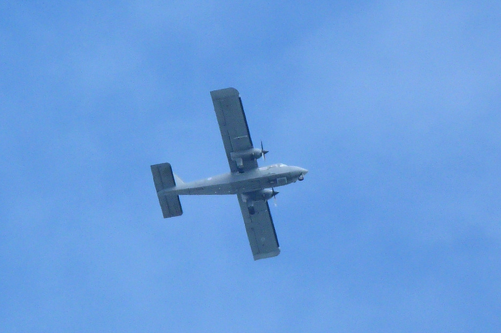 RAF Islander CC2 ZH537.<br /> By Clive Featherstone.