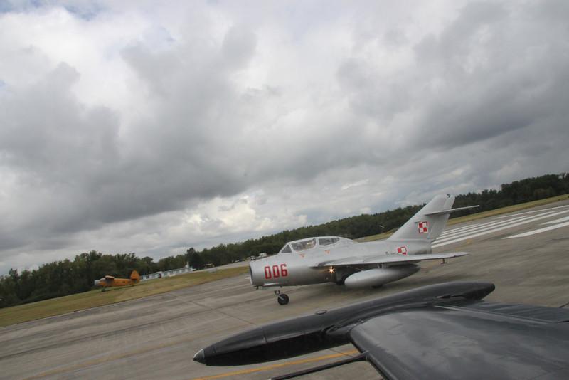 Skupina MiG-15, L-39 a 2*L-159