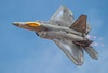 The USAF F-22 Raptor performs at Thunder Over Utah 2012