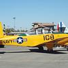 Beechcraft T34B Mentor side rt