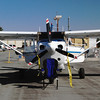 Cessna T206H Turbo Stationair CHP front