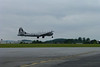 The B29 taking off.