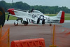 P-51 D getting ready to fly