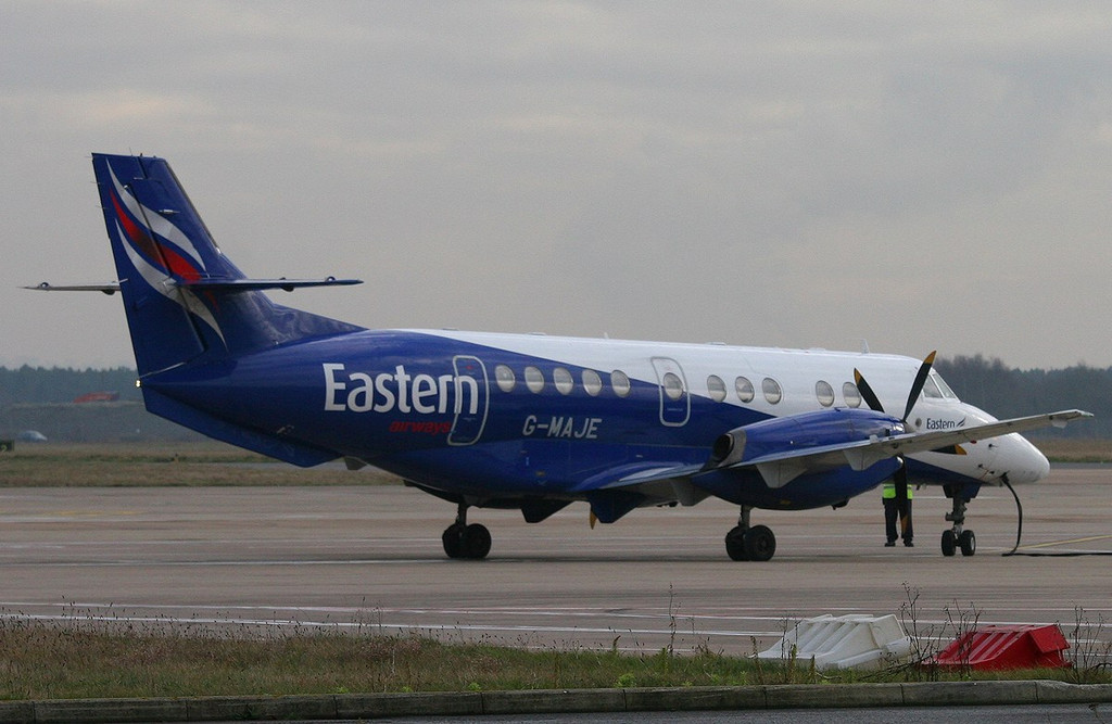 Eastern Airways BAe Jetstream 41 G-MAJE<br /> By Correne Calow.