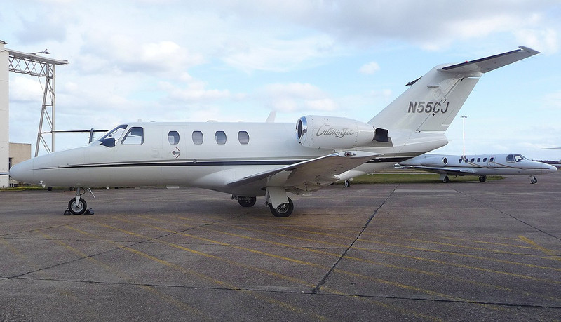 Cessna 525 CitationJet N55CJ<br /> By Correne Calow.