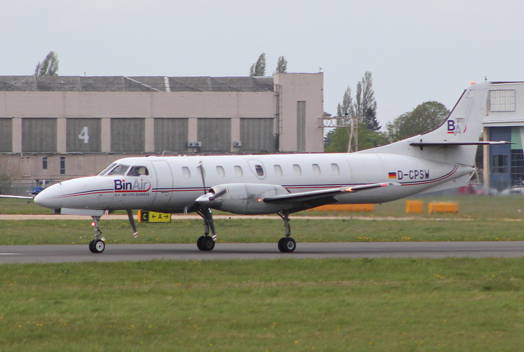 BinAir Swearingen SA-227AC Metro III, D-CPSW <br /> By Clive Featherstone.