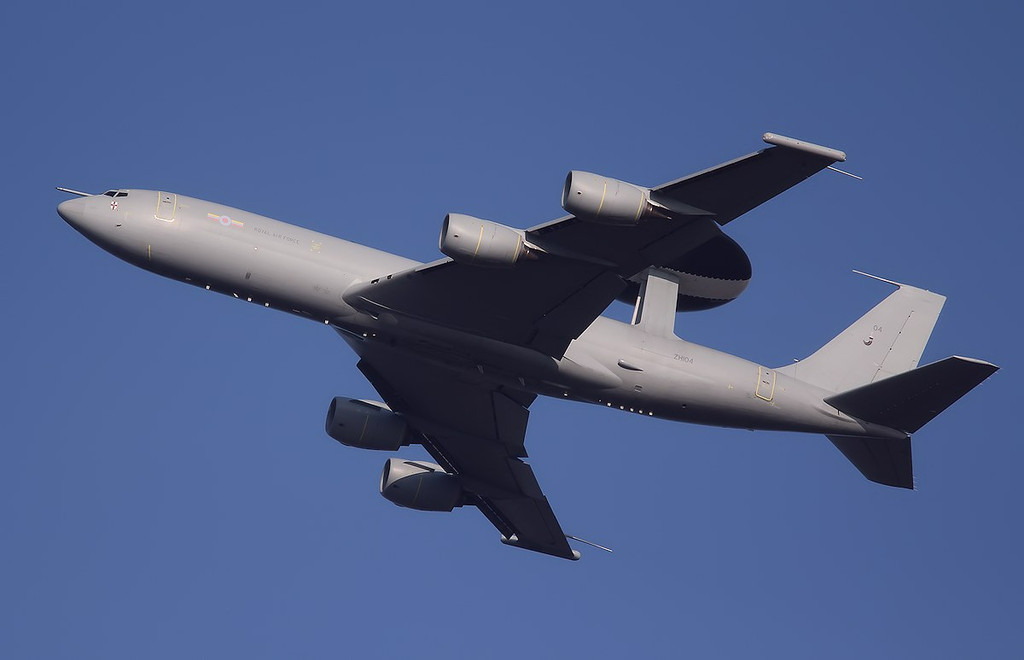 RAF E-3D Sentry, ZH104<br /> By Correne Calow.