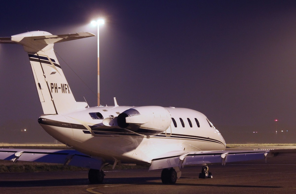 Solid Air, Cessna 650 Citation VI, PH-MFX<br /> By Correne Calow.
