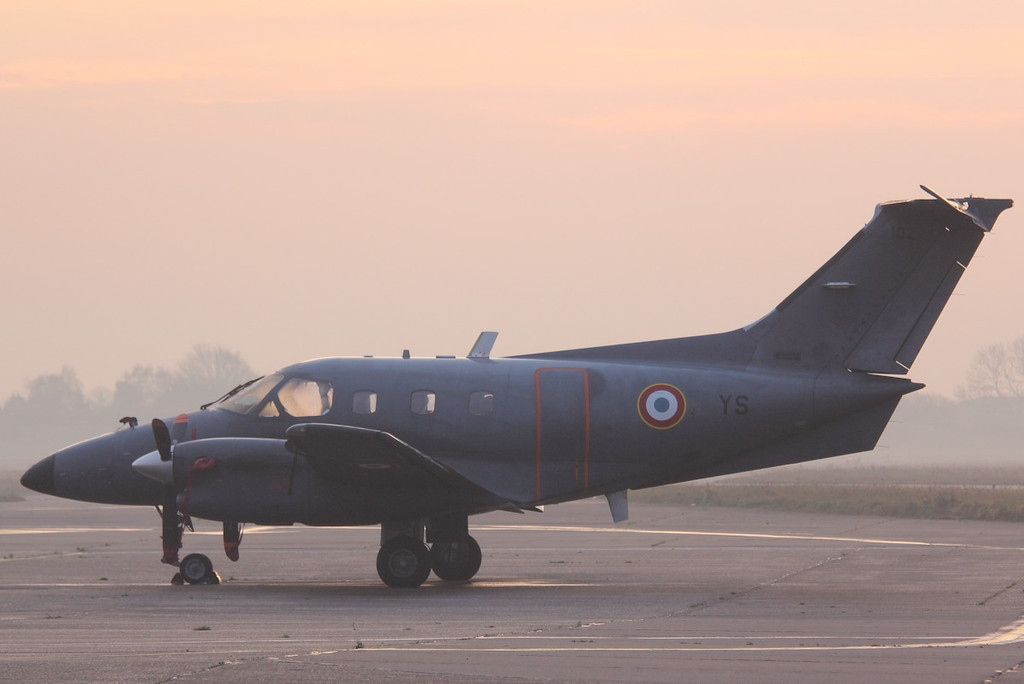 French Air Force Embraer EMB-121AA Xingu, 102/YS<br /> By Correne Calow.