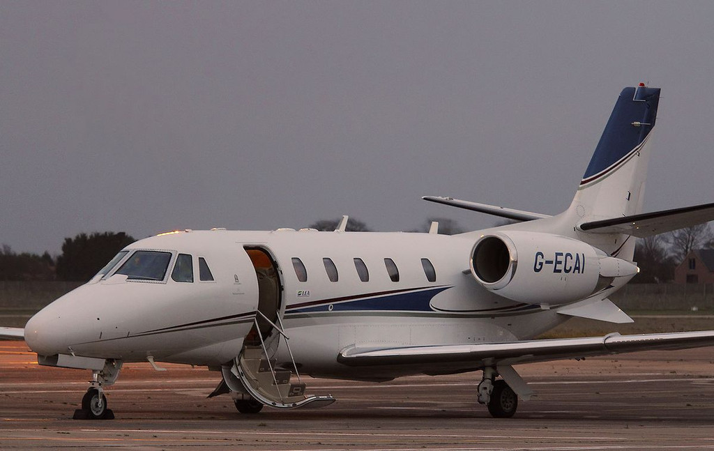 London Executive Aviation, Cessna 560XLS Citation Excel, G-ECAI<br /> By Correne Calow.