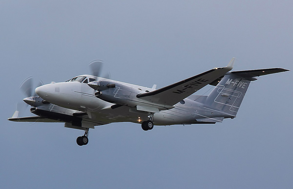 Beech 350 King Air, M-FIVE<br /> By Correne Calow.