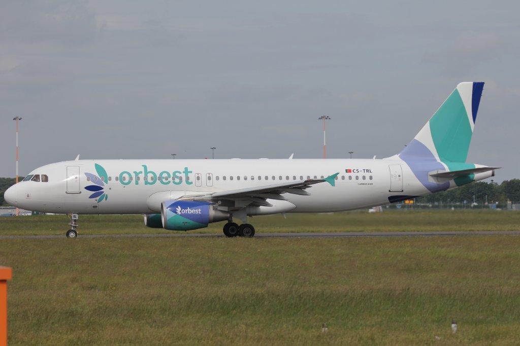 Orbest A320, CS-TRL<br /> By Steve Roper.