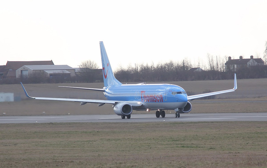Thomson Airways B737-800,  G-TAWJ<br /> By Correne Calow.