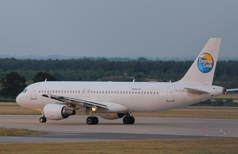 Thomas Cook A320, YL-LCL<br /> By Correne Calow.