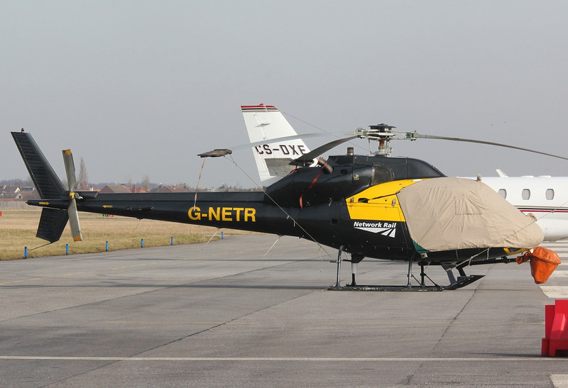 AS355F1 Ecureuil II, G-NETR<br /> By Correne Calow.