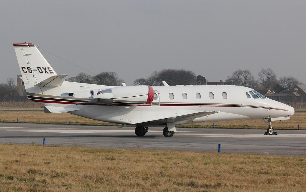 NetJets Europe Cessna 560XLS Citation XLS (cn 560-5578), CS-DXE<br /> By Correne Calow.
