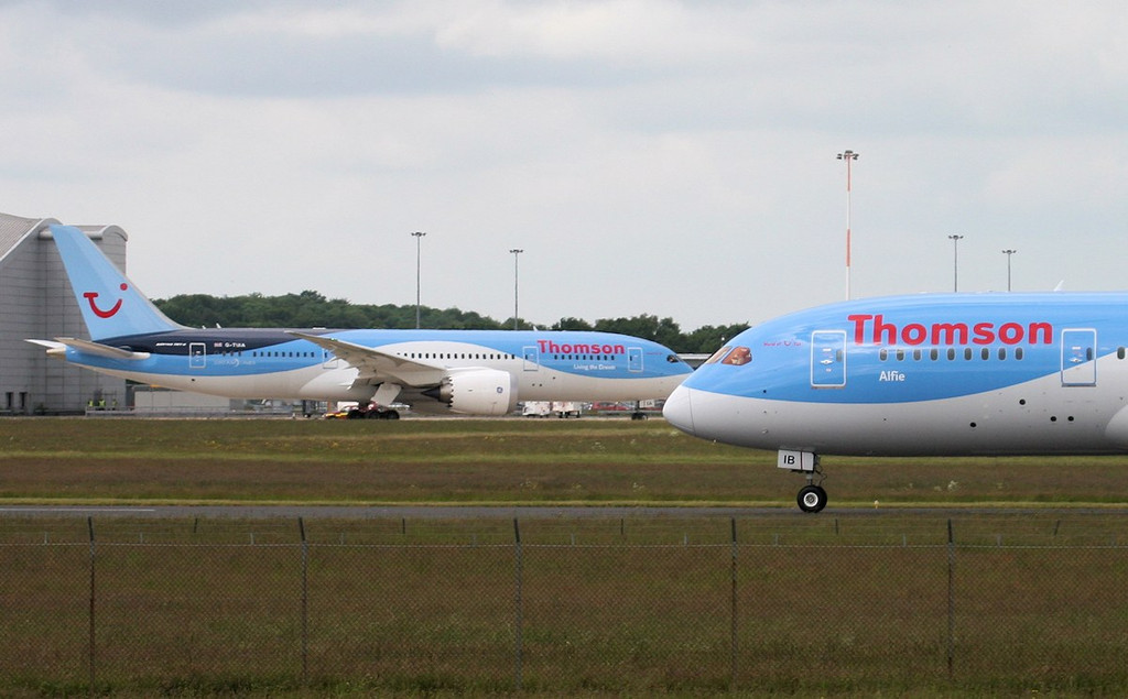 Amazing to think........this is two thirds of the current UK 787 fleet !<br /> By Jim Calow.