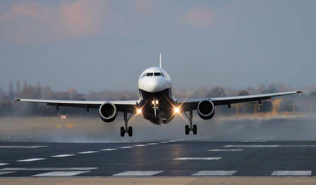 Monarch A320 G-MONX.<br /> By Jim Calow.