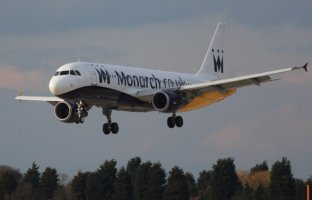 Monarch A320 G-MONX.<br /> By Correne Calow.