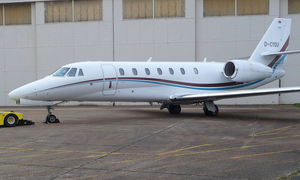 Air X Cessna Citation 680 Sovereign D-CYOU<br /> By Correne Calow.