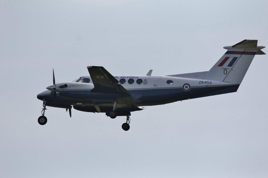 RAF Beech 200 Super King Air, ZK455/O<br /> By Steve Roper.