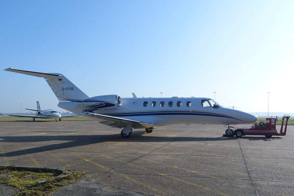 Cessna 525A Citation CJ2+ c/n 525A-0357, D-IVVB<br /> By Clive Featherstone.