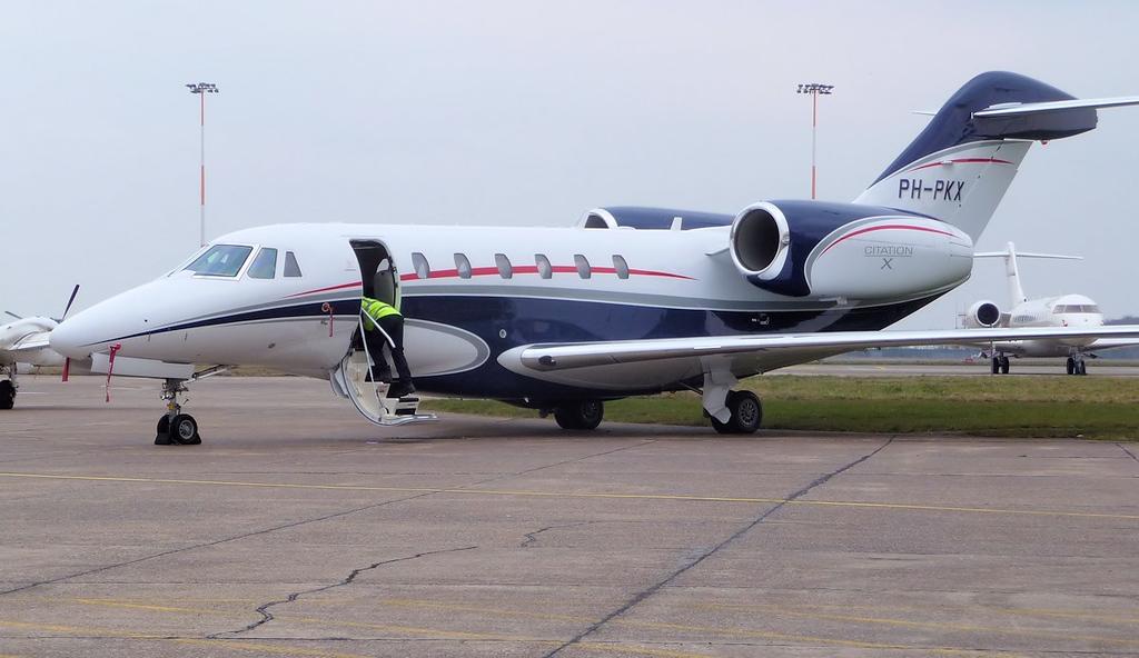 Cessna 750 Citation X,  PH-PKX<br /> By Correne Calow.