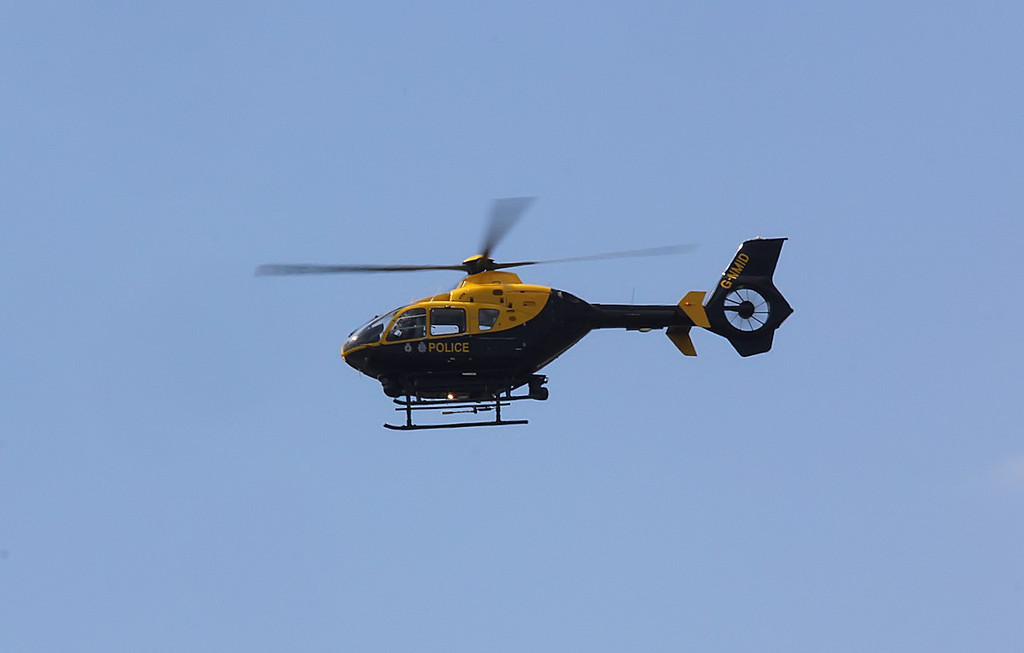 North Midlands Helicopter Support Unit, Eurocopter EC135T2, (Police 08), G-NMID <br /> By Correne Calow.
