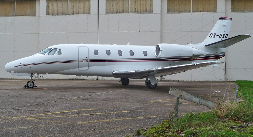 Netjets Europe, Cessna 560XL Citation XLS, CS-DXO <br /> By Correne Calow.